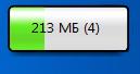 Memory 1C - Гаджет для боковой панели Windows 7 и Vista